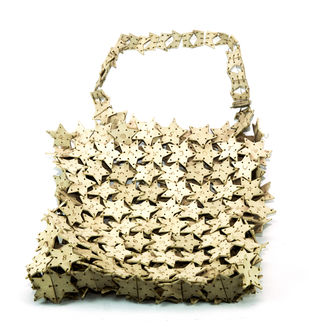 The Bag by Kim jin Kyoung, Decorative Sculpture | 3D, Ceramic, Beige color