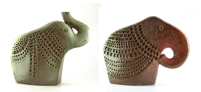 Untitled by Anatolii Borodkin, Decorative Sculpture   3D, Ceramic, White color