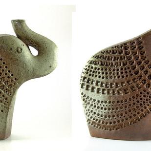 Untitled by Anatolii Borodkin, Decorative Sculpture | 3D, Ceramic, White color