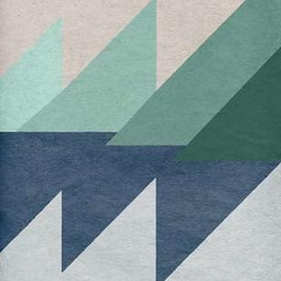 Linen Geometrics D Digital Print by GI ArtLab,Geometrical