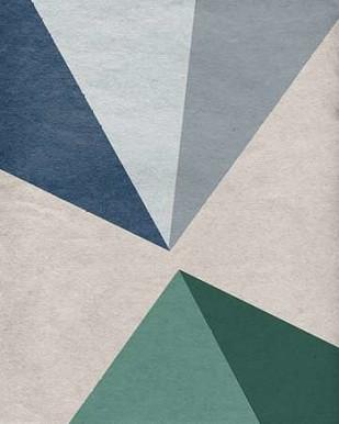 Linen Geometrics E Digital Print by GI ArtLab,Geometrical
