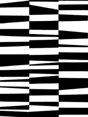 Monochrome Patterns 7 Digital Print by Marie, Natasha,Abstract