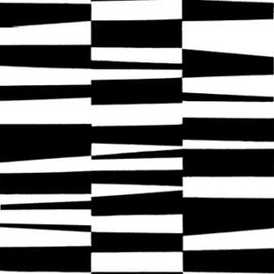 Monochrome Patterns 7 Digital Print by Marie, Natasha,Abstract