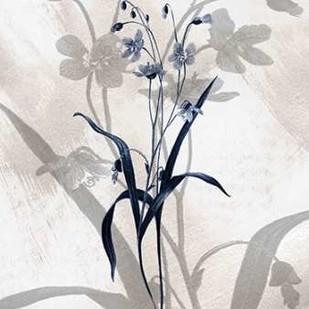 Indigo Bloom III Digital Print by Butler, John,Decorative