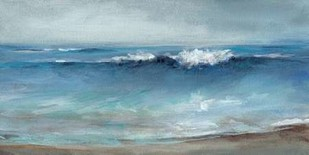 Coastal Breeze Digital Print by Long, Christina,Abstract, Impressionism