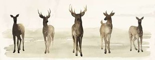 Deer Line I Digital Print by Popp, Grace,Impressionism