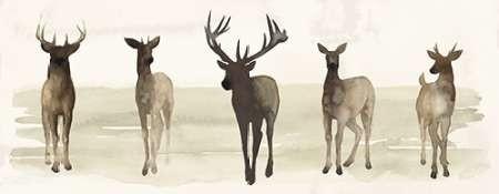 Deer Line II Digital Print by Popp, Grace,Decorative