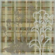Tartan Floral II Digital Print by Meagher, Megan,Decorative
