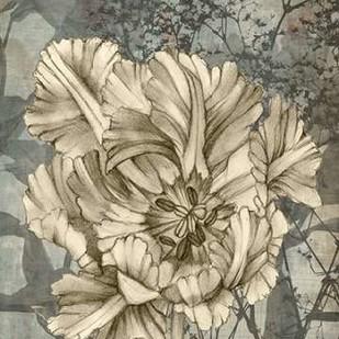 Tulip & Wildflowers IX Digital Print by Goldberger, Jennifer,Illustration