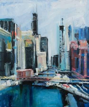 River View Digital Print by Crain, Curt,Expressionism