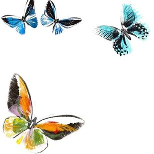 Butterflies Dance VII Digital Print by Project, A.,Decorative