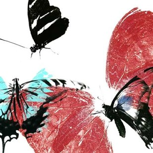 Butterflies Dance VIII Digital Print by Project, A.,Decorative