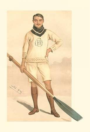 Vanity Fair Rowing Digital Print by Spy,Realism