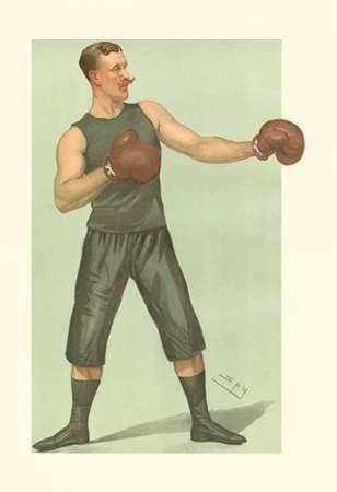 Vanity Fair Boxing Digital Print by Spy,Realism