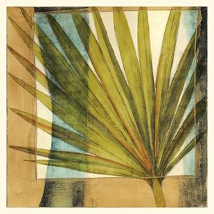 Seaside Palms I Digital Print by Jennifer Goldbergrer,Decorative