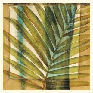 Seaside Palms II Digital Print by Jennifer Goldbergrer,Decorative