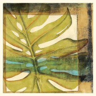 Seaside Palms III Digital Print by Jennifer Goldbergrer,Decorative