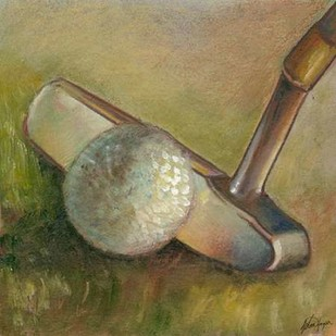 The Putter Digital Print by Harper, Ethan,Decorative
