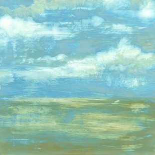 Cloud Striations I Digital Print by Goldberger, Jennifer,Impressionism, Impressionism