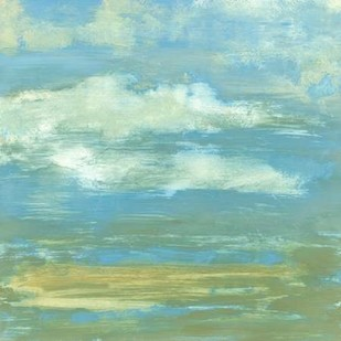 Cloud Striations II Digital Print by Goldberger, Jennifer,Impressionism