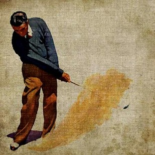 Vintage Sports I Digital Print by Butler, John,Realism