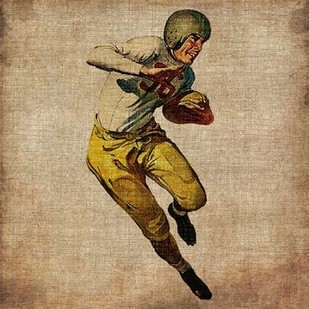Vintage Sports III Digital Print by Butler, John,Realism