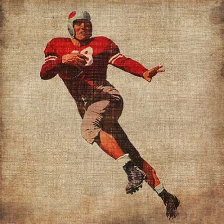 Vintage Sports IV Digital Print by Butler, John,Realism