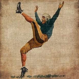 Vintage Sports V Digital Print by Butler, John,Realism