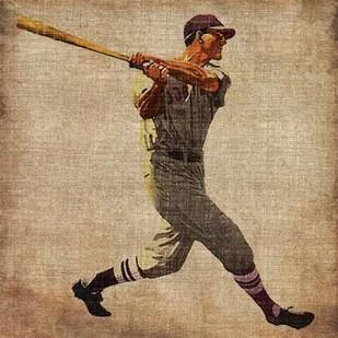 Vintage Sports VI Digital Print by Butler, John,Realism