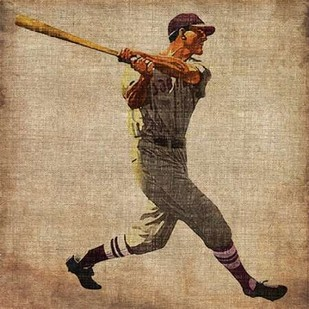 Vintage Sports VI Digital Print by Butler, John,Realism