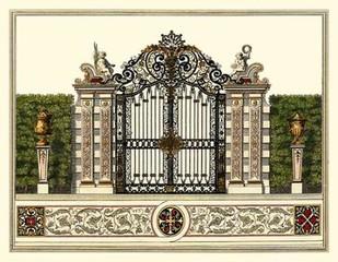 The Grand Garden Gate II Digital Print by Kleiner, O.,Realism