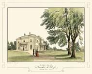 Lancashire Castles II Digital Print by Greenwood, C.J.,Realism