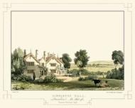 Lancashire Castles IV Digital Print by Greenwood, C.J.,Realism