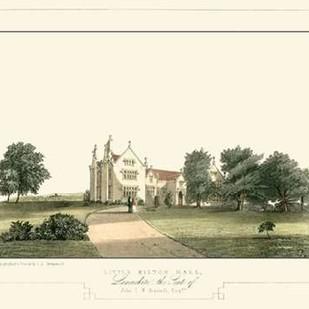 Lancashire Castles V Digital Print by Greenwood, C.J.,Realism