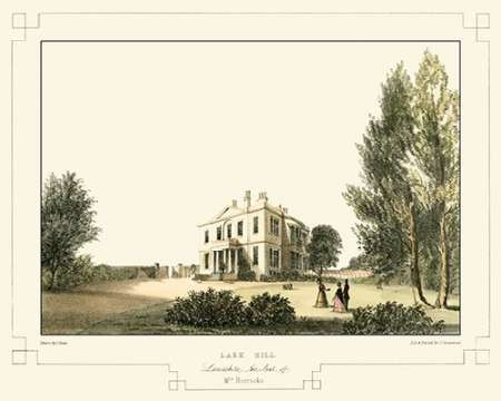 Lancashire Castles VI Digital Print by Greenwood, C.J.,Realism