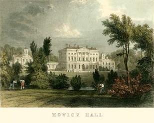Hewick Hall Digital Print by Allom, T.,Realism