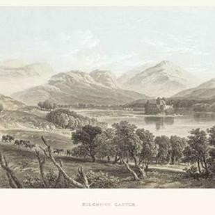 Kilchurn Castle Digital Print by Unknown,Expressionism