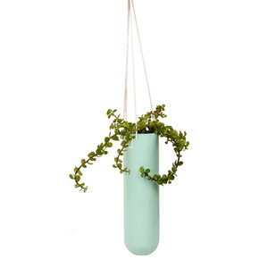 PoppadumArt Lab Planter - Powder Blue Garden Decor By PoppadumArt