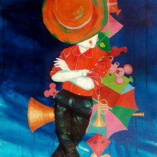 The passion of childhood Digital Print by shiv kumar soni,Decorative