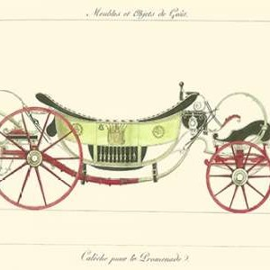 Antique Carriage II Digital Print by unknown,Decorative