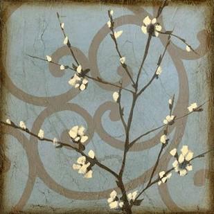 Blossom Branch II Digital Print by Goldberger, Jennifer,Decorative