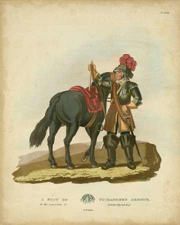 Men in Armour VI Digital Print by Meyrick,Decorative