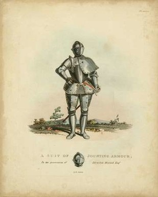 Men in Armour IV Digital Print by Meyrick,Decorative