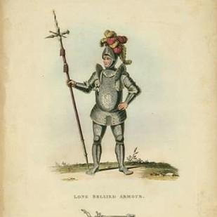 Men in Armour III Digital Print by Meyrick,Decorative
