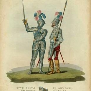 Men in Armour II Digital Print by Meyrick,Decorative