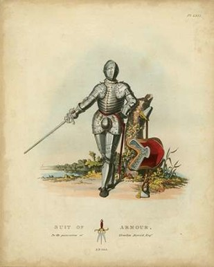 Men in Armour I Digital Print by Meyrick,Decorative