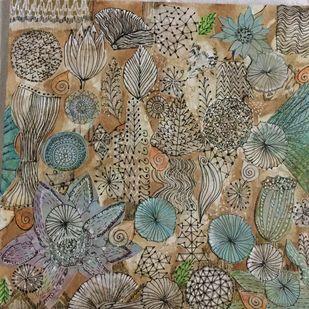 My incandescent world 9a Artwork By Mahalaxmi
