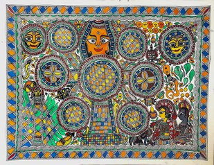 Kohvar Artwork By Asha Devi