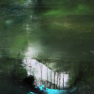 Stillness Speaks Digital Print by Neena Singh,Abstract
