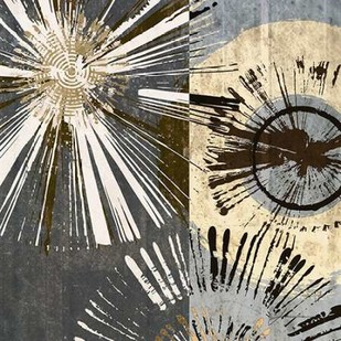 Outburst Tiles I Digital Print by Burghardt, James,Abstract